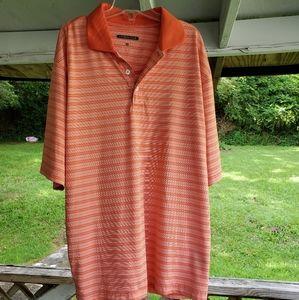 CYPRESS CLUB men's short sleeve polo shirt size M